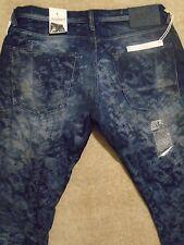 PRPS BARRACUDA Dark Acid Washed Jeans Slim 36 / Fits 35 / 34 Orig. $350+Portugal