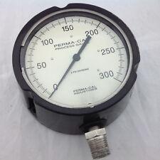 Perma-Cal 2 Pressure Gauge 2 PSI Divisions 0-300 PSI 4.5 inch Face
