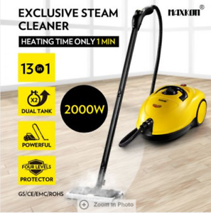 3.4L 2000W Commercial Home High Pressure Steam Cleaner Mop Carpet Floor Window