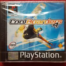 COOL BOARDERS 4  NEW/SEALED ORIGINAL BLACK LABEL SONY PS1 PS2 PAL