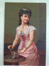 """Chromo vintage affiche publicitaire """"williot fils """" France18 cm x 12 cm     14"""