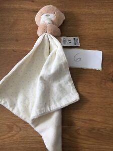 MOTHERCARE SOFT Teddy Bear Blanket COMFORTER BLANKET