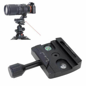Converter for Arca-Swiss Quick Release Plate to Manfrotto RC2 Tripod Head Clamp