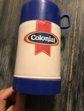 Plastic THERMOS ONLY Colonial Bread Lunch Box  Colonial Bread Is Fresh Bread E20