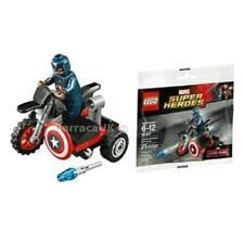 Captain America Motorcycle LEGO Construction Toys & Kits