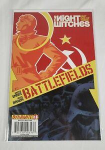 Battlefields The Night Witches Issue 1 Dynamite 2009 Garth Ennis Comic Book WW2