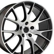 "22"" Hellcat Style Wheels For Dodge Ram 1500 Dakota Durango 5x139.7 (Rims Set 4)"