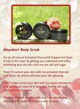 Mayokori Body Scrub. USA SELLER