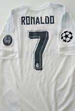 Camiseta Real Madrid Ronaldo L shirt 2015 2016 Champions Final jersey