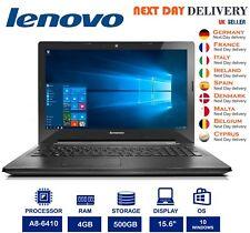 "Lenovo G50-45 15.6"" Computadora Portátil AMD A8 2GHZ 4GB Ram 500GB Radeon R5 Windows 10 un grado"