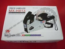 New - Mx-H813 Price Labeller Metal Crust and Hardware