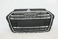 AUDI A3 S LINE FRONT BUMPER GRILL 2016 TO 2020