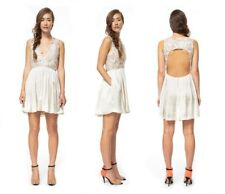 Nami by Inspirare Ivory Off White Lace Wedding Shower Bella Dress Size 6