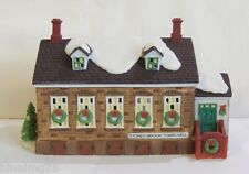 Dept 56 New England Stoney Brook Town Hall #56448 Nib (Y436)