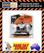 Pro Choice Half Mask ABEK1 Respirator Breathing Gas Protection Chemical Kit