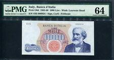 Italy 1965, 1000 Lire, 986924, P96d, Pmg 64 Unc