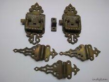 30/% OFF 2 In Stock E1001 REPRODUCTION Ornate Eatslake Brass Hinge
