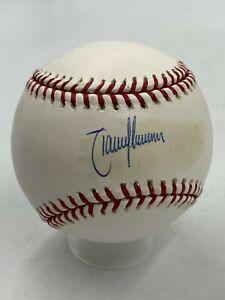 Randy Johnson HOF Signed Official Rawlings Baseball AUTO Mounted Memories COA