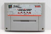Strike The Gunner STG SFC Nintendo Super Famicom SNES Japan Import I6537