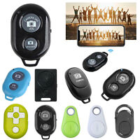 Wireless Bluetooth Remote Control Camera Shutter for iPhone iPad Android iOS