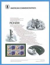 USPS COMMEMORATIVE PANEL #44 PIONEER #1556
