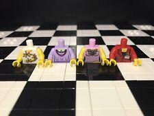 Lego Assorted Minifigure Female Torso x 4 / Spares / Girl / Woman