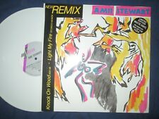 "Amii Stewart ‎– Knock On Wood / Light My Fire 12"" Coloured WHITE Vinyl Single"