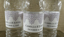 Personalized Water Bottle Labels -Wedding Favor- Sticker Label-Any Occasion