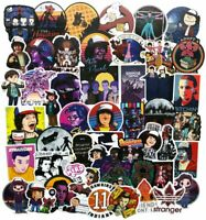 (50Pcs) Stranger Things Stickers Bomb For Laptop Skateboard Luggage Car Decals