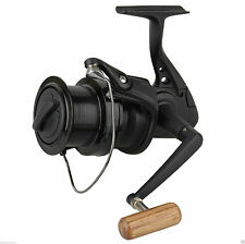OKUMA Custom Black CB-60 Big Pit Spool / Marker Reel + Spare spool Carp Fishing