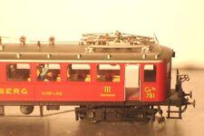 METROPOLITAN ho: 692 BLS a fait état moteur voiture Lötschberg ce 2/4 #781-82 laiton