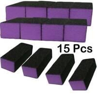 15 Pcs Buffing Sanding Buffer Block Acrylic Pedicure Manicure Nail Art Tips