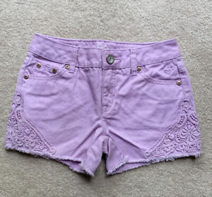 Justice Size 12S Shorts Lavender Girls Justice Shorts Size 12S Perfect condition