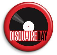 Disquaire Day Record Store Vinyle musique  Badge Epingle 38mm Button Pin