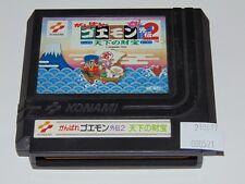 Famicom: Ganbare Goemon 2 - Konami (cartucho/cartridge)