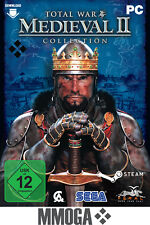 Medieval II Total War Collection - PC Spiel Code - STEAM Key NEU [EU] - Eng Only