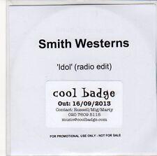 (ED925) Smith Westerns, ldol - 2013 DJ CD