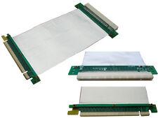 Elevadora PCI EXPRESS 16x - FLEXIBLE - Plano Blindado - PCIE
