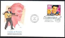 Elvis Presley #2724 Fleetwood COUNTRY WESTERN Full Color Cachet FDC UA (LOT 308)