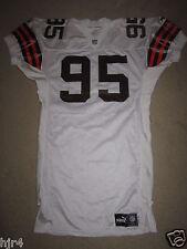 Jamir Miller #95 Cleveland Browns 1999 NFL Game Worn Used Jersey Autograph