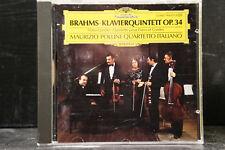 Brahms - Klavierquintett Op.34 / Pollini/Quartetto Italiano