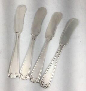 Etrsuscan by Gorham Sterling Group of 4 FH Butter Spreaders