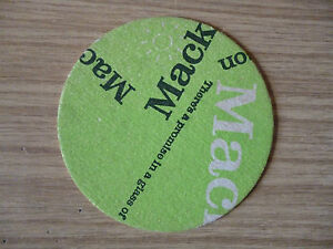 Mackeson. - 1960's / 1970's beer mat