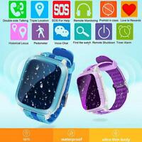 New Waterproof GPS Tracker SOS Call Children Smart Watch For Android IOS iPhone