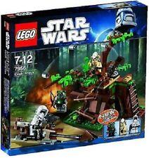 LEGO Star Wars Ewok Attack Set # 7956, Retired, 3 mini figures, Sealed, MINT