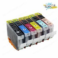 6 Pack CLI8 CLI-8 Ink For Canon Pixma iP6600D iP6700D MP950 MP960 MP970
