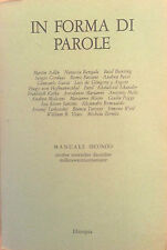 IN FORMA DI PAROLE - MANUALE SECONDO- 1983