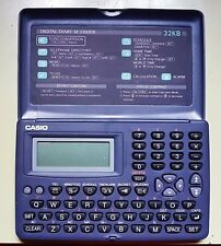 CASIO DIGITAL DIARY SF-3300ER 32KB VINTAGE
