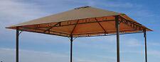 Ersatzdach zu Gartenpavillon Antik  Pavillon Partyzelt 3x3m Taupe NEU & OVP