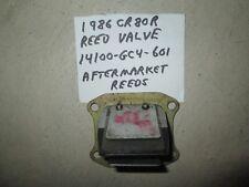 Honda 1986 CR80R reed valve assembly  ( reed block ) 14100-GC4-601